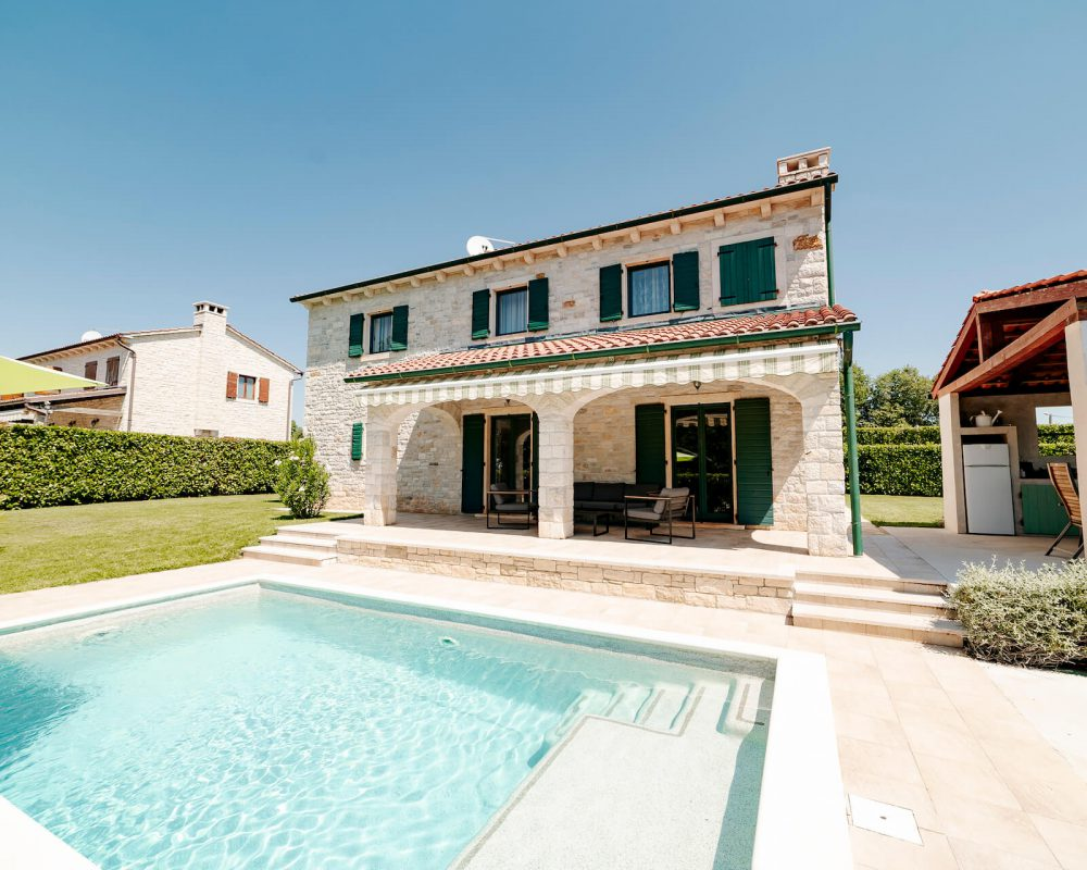 Villa Dracena Blick Außenbereich