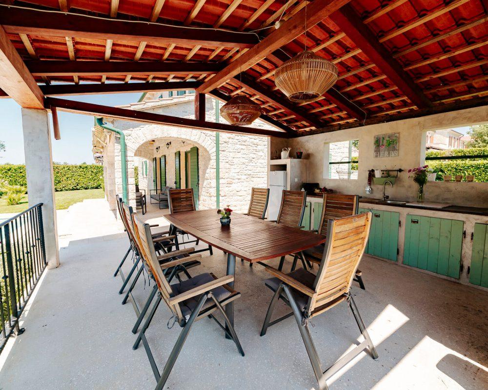 Villa Dracena gemütliche Sitzecke Ansicht