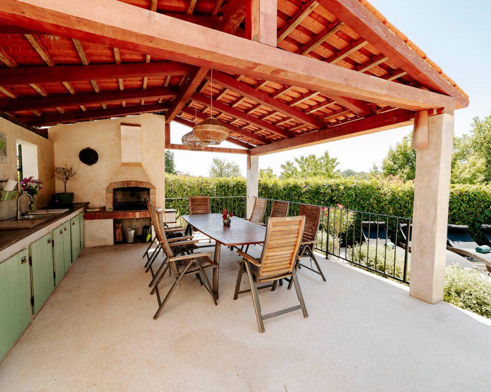 Villa Dracena gemütliche Sitzecke