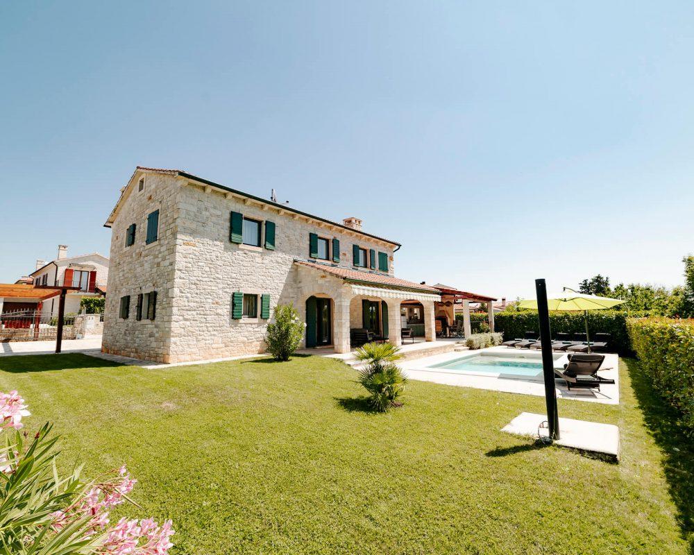 Villa Dracena Außenbereich Garten