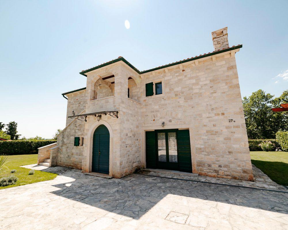 Villa Dracena Frontansicht