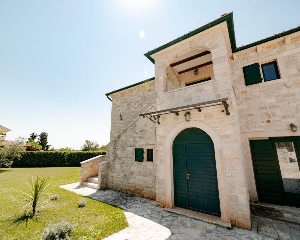 Villa Dracena Eingang