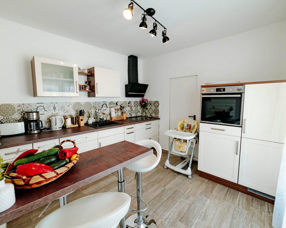 Villa Dracena Küchenzeile