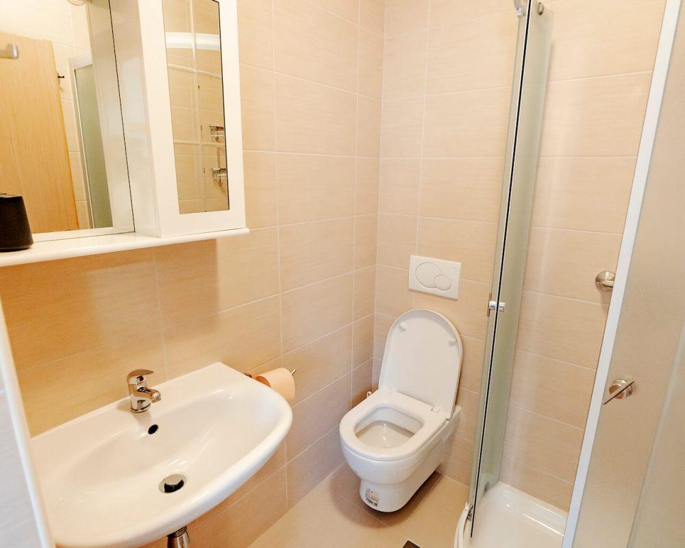 Villa Dracena Bad mit Dusche