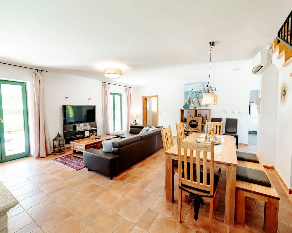 Villa Dracena Wohnbereich Ansicht