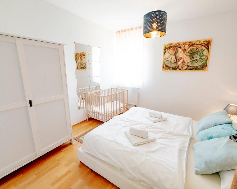 Villa Dracena drittes Schlafzimmer